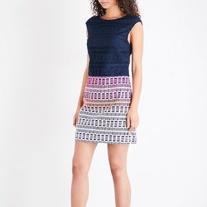 Ted Baker Dahil Marina Mosaic Lace Dress